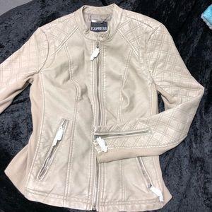 Small Women Tan Express jacket